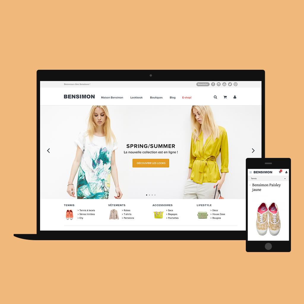 Bensimon Refonte Graphique Site Web