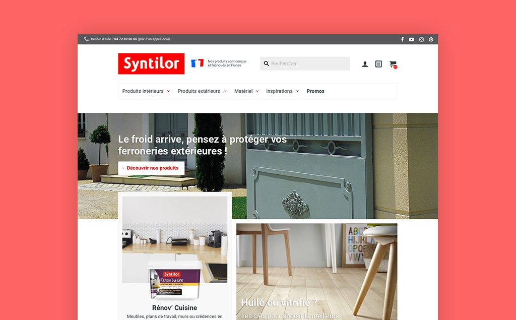 Syntilor Webdesign Ecommerce