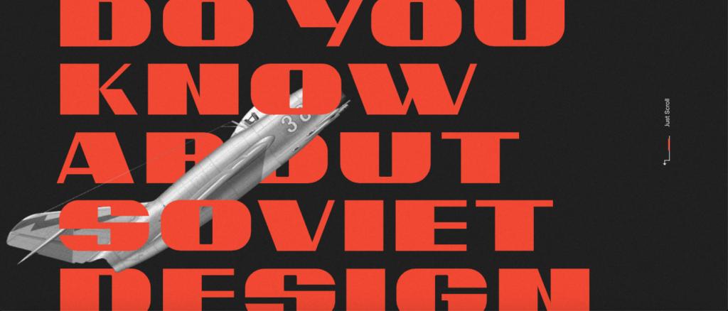Webdesign Soviet Design