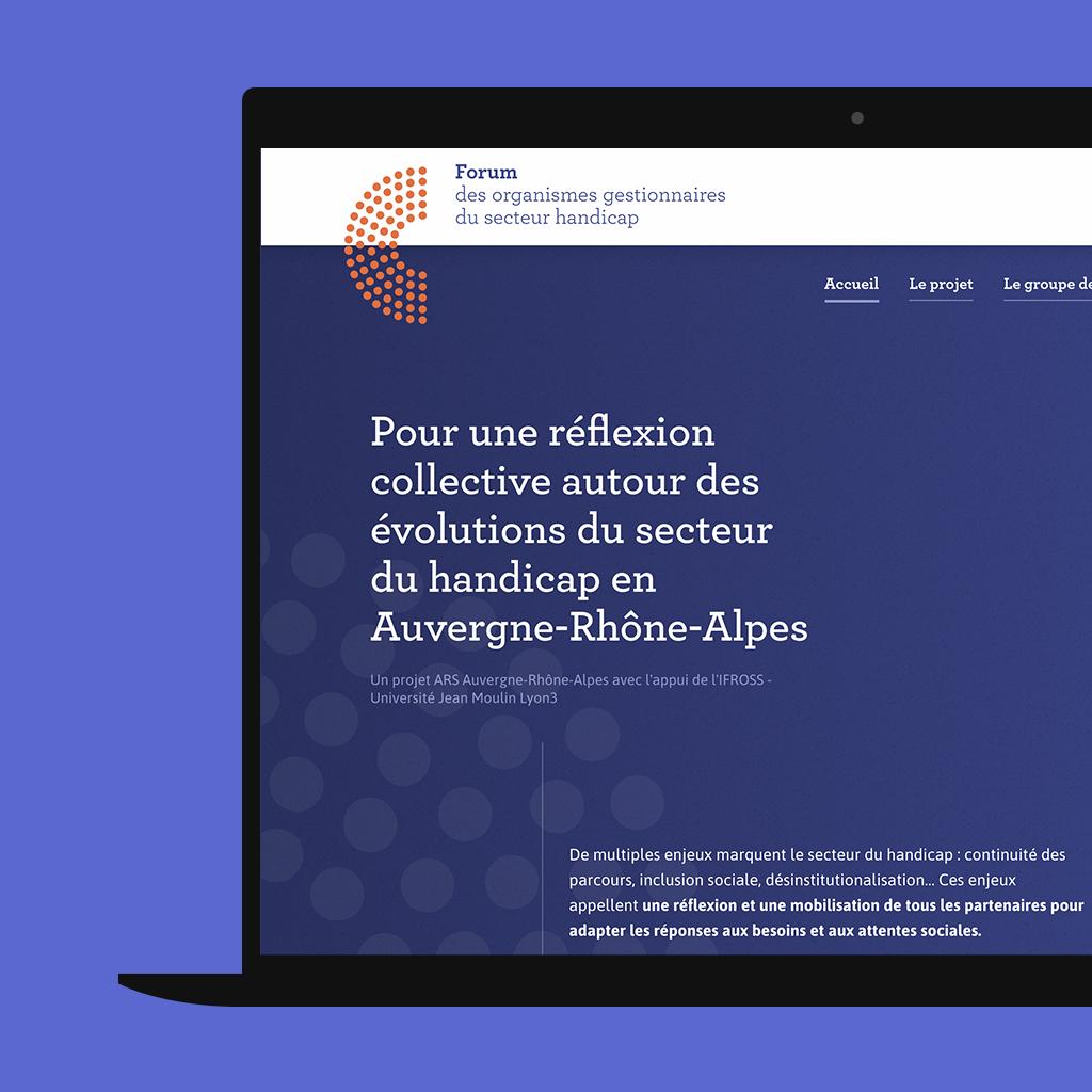Un outil de collaboration avec WordPress pour l'Agence Régionale de Santé et l'Ifross