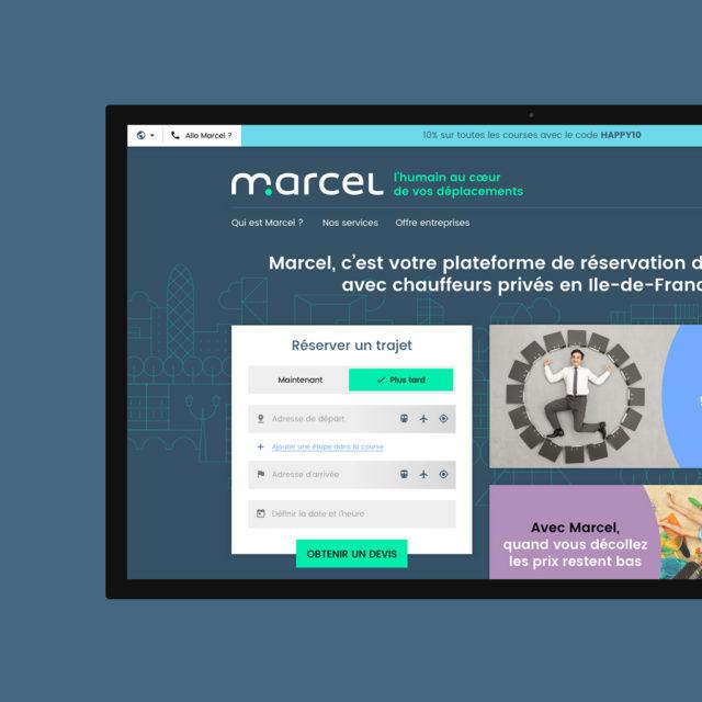 Marcel Cab Stratup Refonte Site Web Fantassin