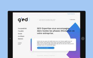 On a mis des couleurs sur la comptabilité avec le site web de GED Expertise !