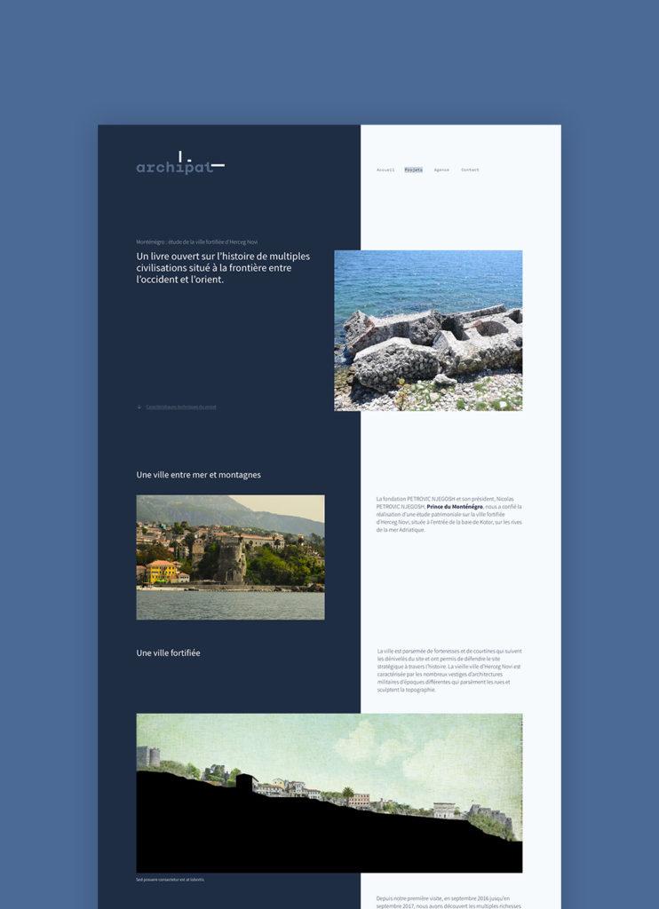 Archipat Page Projet